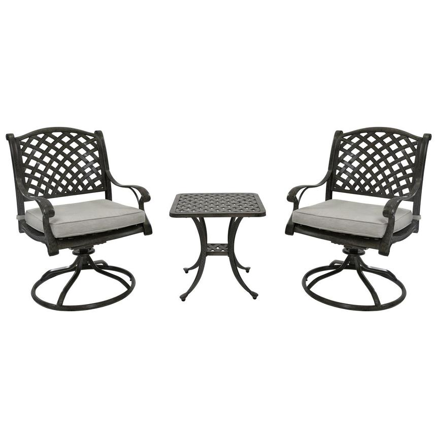 Castle Rock Gray 3-Piece Patio Set  main image, 1 of 10 images.
