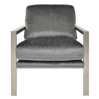 Pharrell Gray Accent Chair
