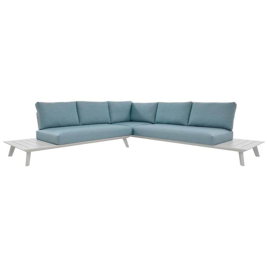 Esmeralda Blue Sofa  main image, 1 of 5 images.