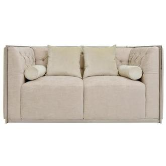Emma Cream Loveseat