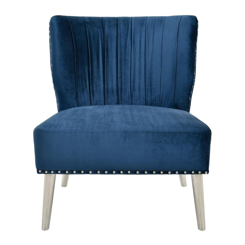 Palermo Blue Accent Chair  main image, 1 of 6 images.