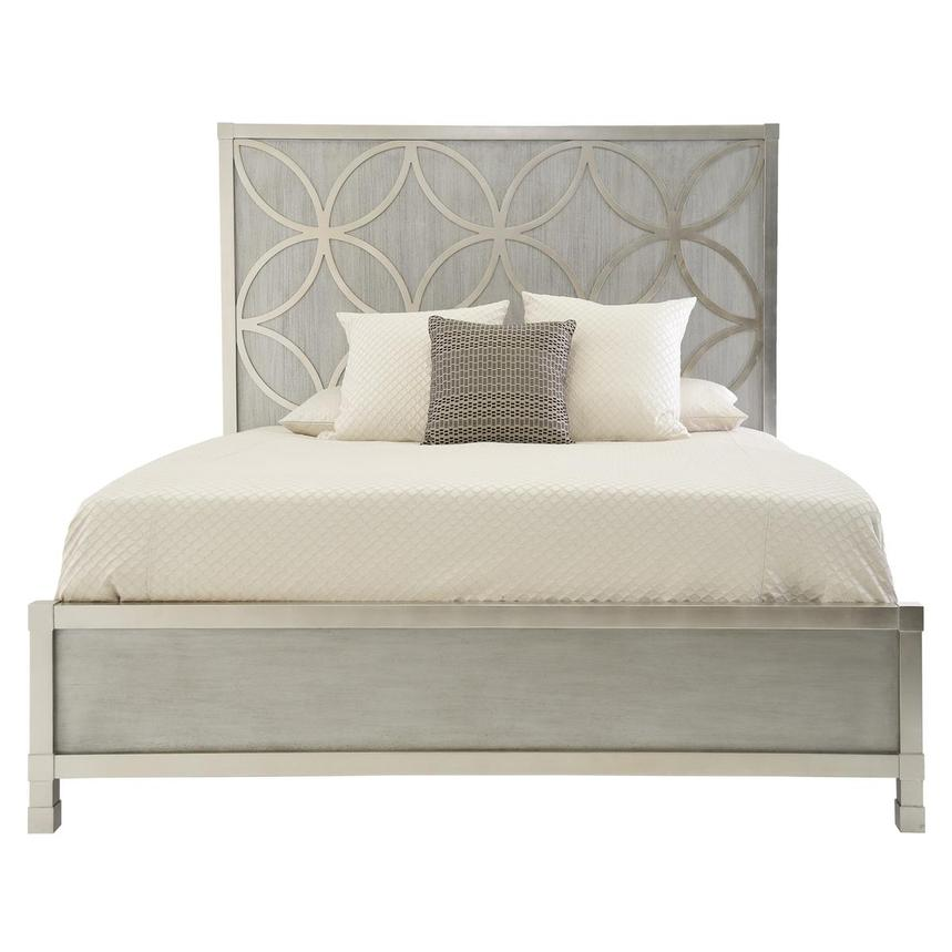 Chic King Panel Bed Main Image 1 Of 5 Images