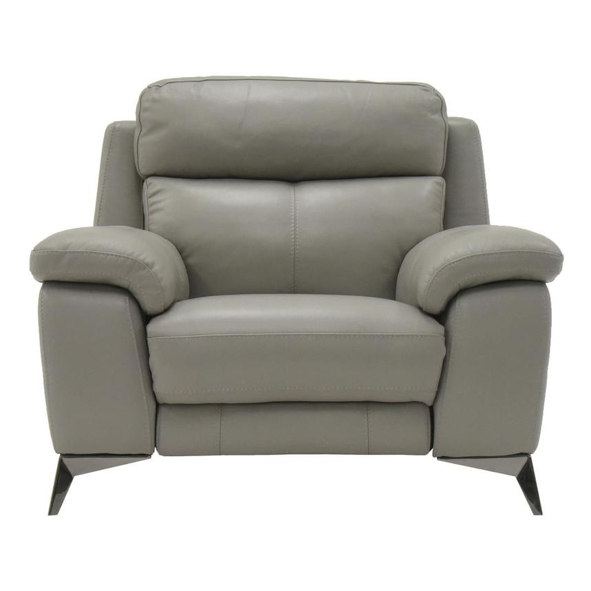 Barry Gray Power Motion Leather Recliner  main image, 1 of 7 images.