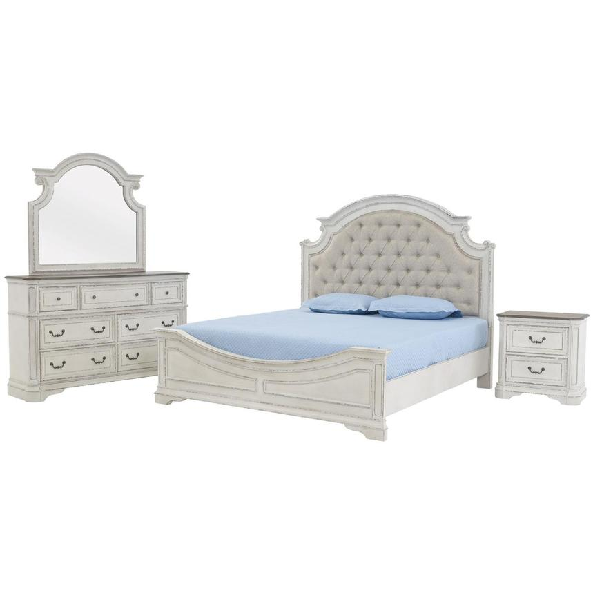 Stevenson Manor 4-Piece King Bedroom Set  main image, 1 of 6 images.