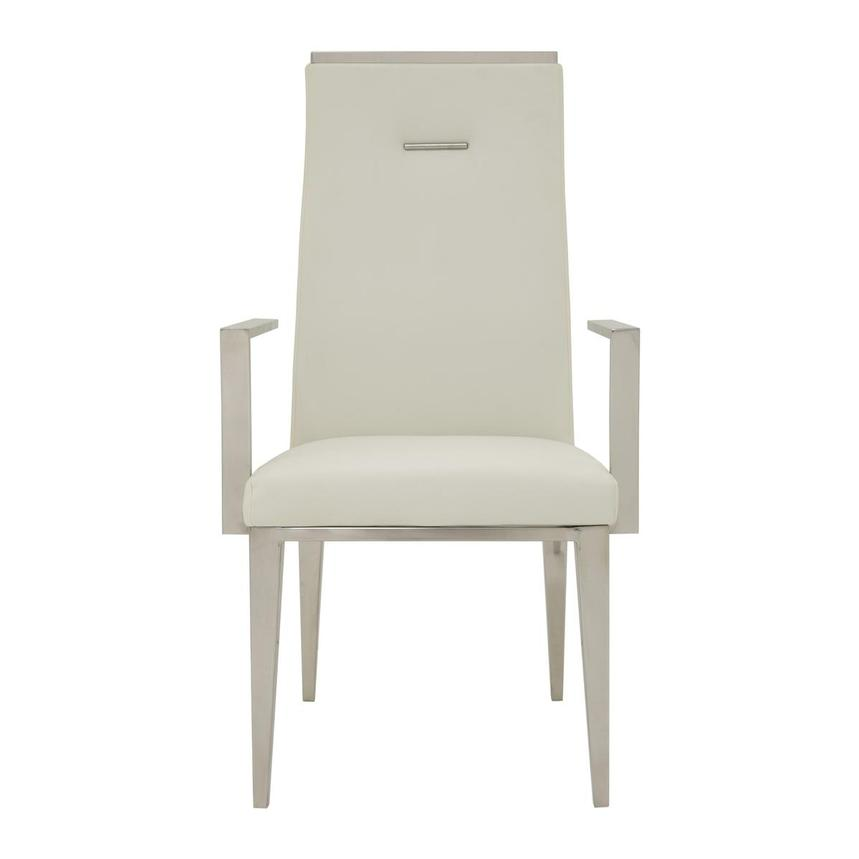 Hyde White Arm Chair  main image, 1 of 5 images.