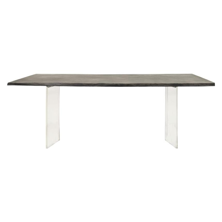 Light Rectangular Dining Table  main image, 1 of 4 images.