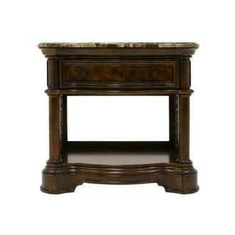 Opulence Open Nightstand