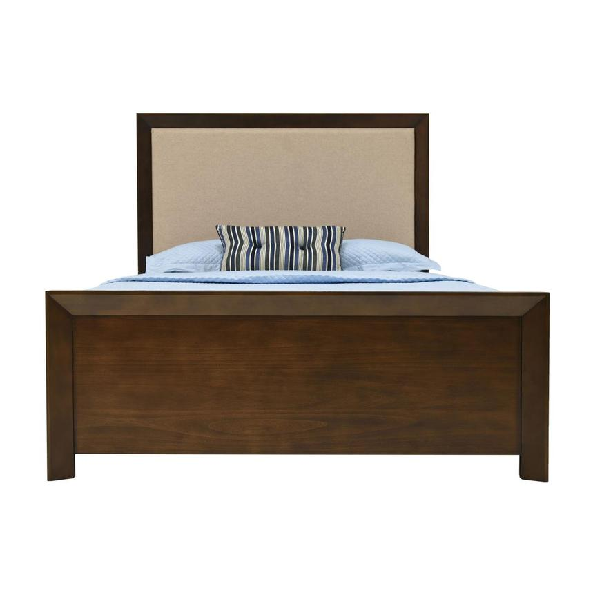 Brentwood Queen Panel Bed  main image, 1 of 4 images.