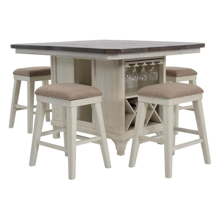 Sammie 5-Piece High Dining Set  main image, 1 of 16 images.