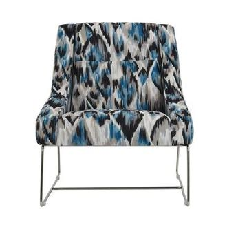 Tutti Frutti Blue Accent Chair