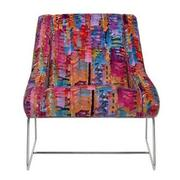 Tutti Frutti Multi Accent Chair w/2 Pillows  alternate image, 2 of 9 images.