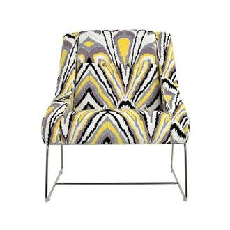 Tutti Frutti Yellow Accent Chair