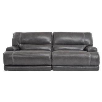 Cody Gray Power Motion Leather Sofa