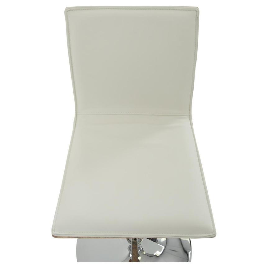 Solimar White Adjustable Stool  alternate image, 6 of 9 images.