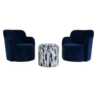 Joey Blue 3-Piece Living Set