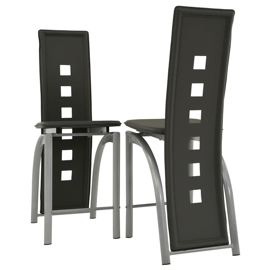 Dominoes Gray Counter Stool  alternate image, 5 of 7 images.
