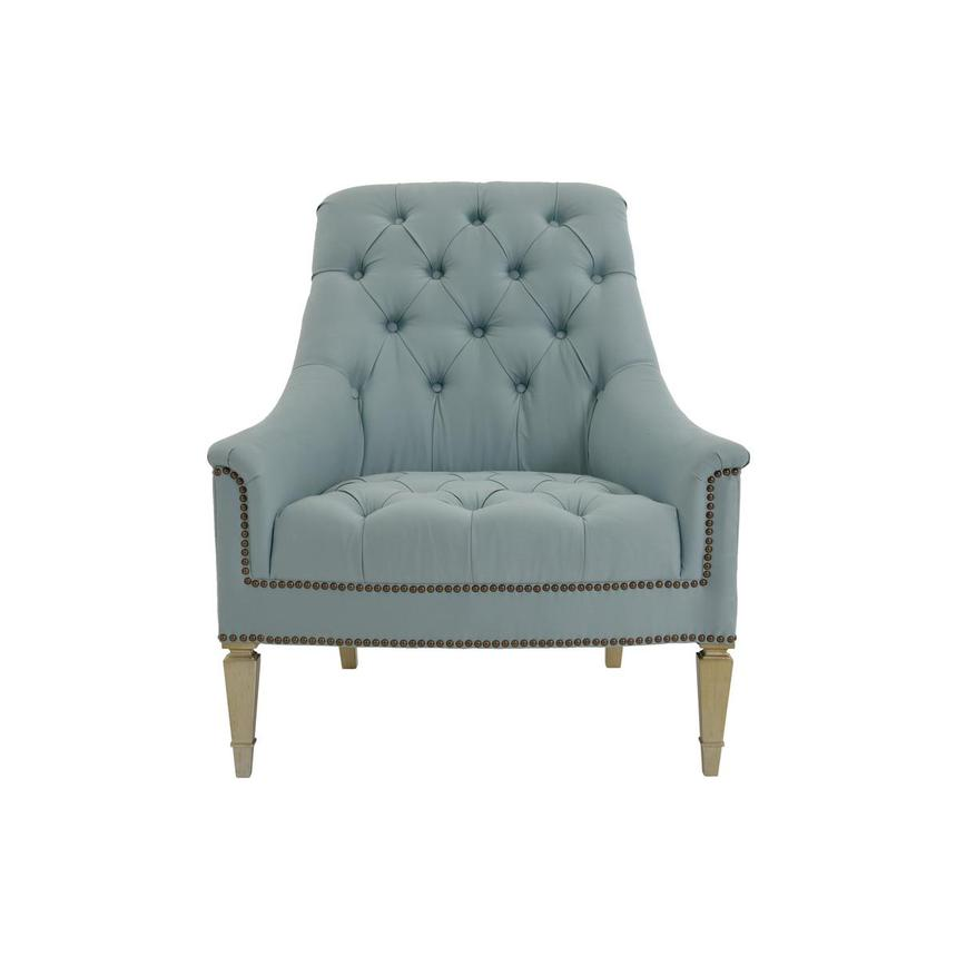 Kimberly Light Blue Accent Chair  main image, 1 of 6 images.