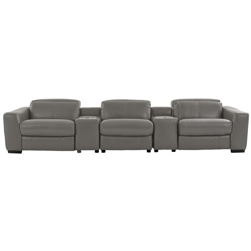 Jay Gray Home Theater Leather Seating