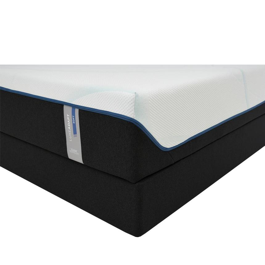 Luxe-Adapt Soft Queen Mattress w/Regular Foundation by Tempur-Pedic  main image, 1 of 6 images.