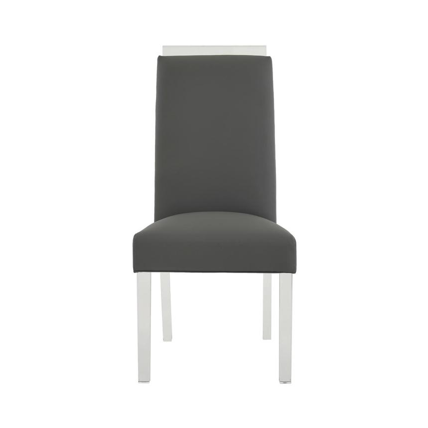 Jass Gray Side Chair  main image, 1 of 8 images.