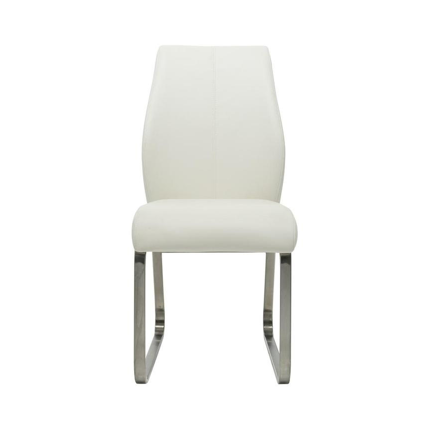 Rome White Side Chair