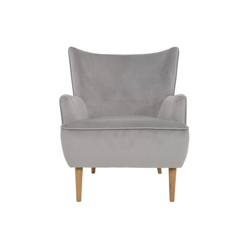 Zita Gray Accent Chair