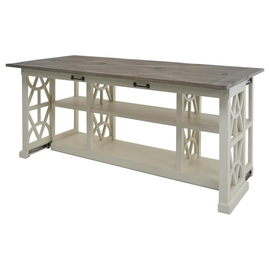 Summer Creek Console Table w/Casters  alternate image, 5 of 11 images.