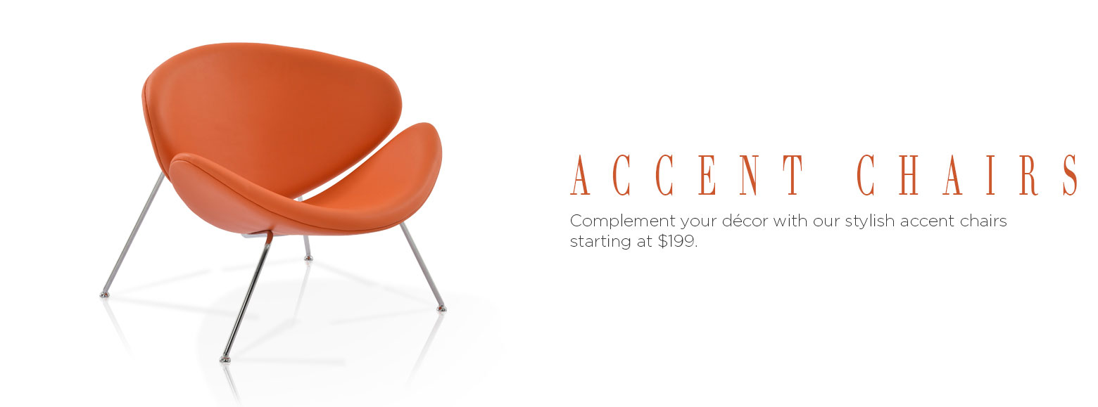 Accent Chairs. Complement Your Décor With Our Stylish Accent Chairs  Starting At 199.