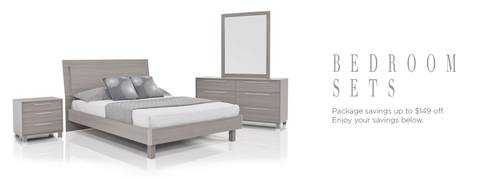 Beds bedrooms bedroom set packages el dorado furniture for Cheap bedroom furniture packages
