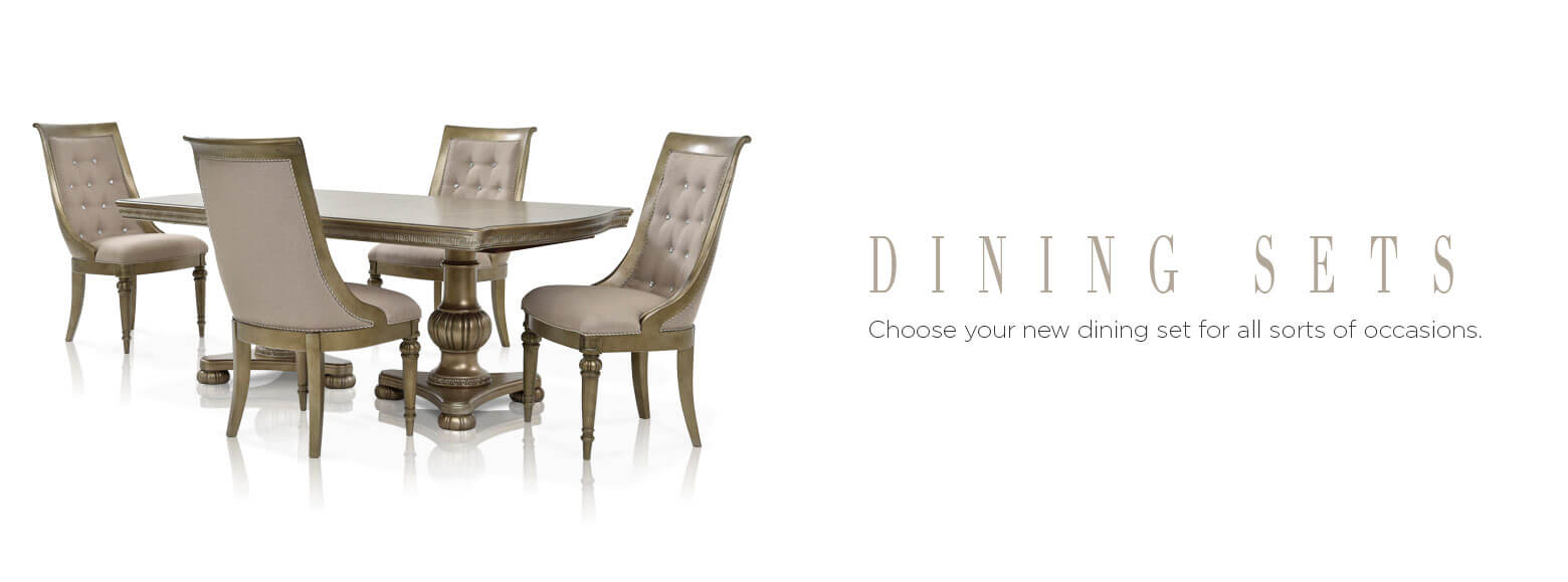 Dining sets. choose your new dining set for all sorts of occasions.