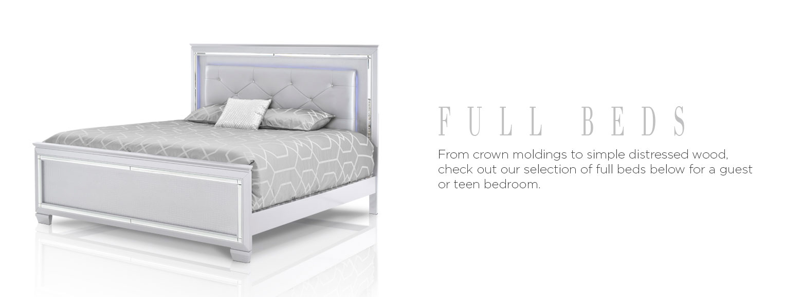 Beds & Bedrooms - Full Beds | El Dorado Furniture