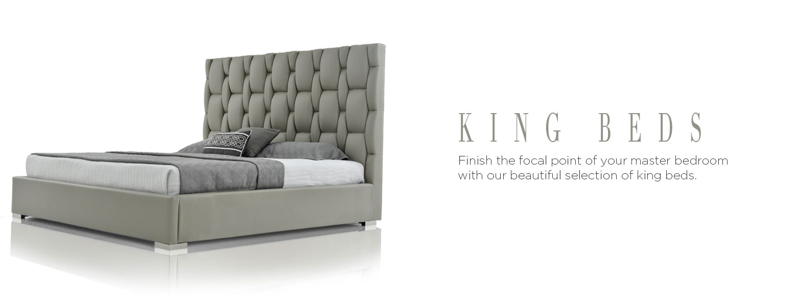 King Beds. Finish The Focal Point Of Your Master Bedroom With Our Beautiful  Selection Of