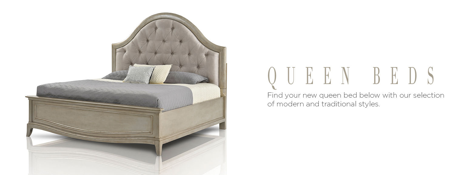 Beds & Bedrooms - Queen Beds | El Dorado Furniture