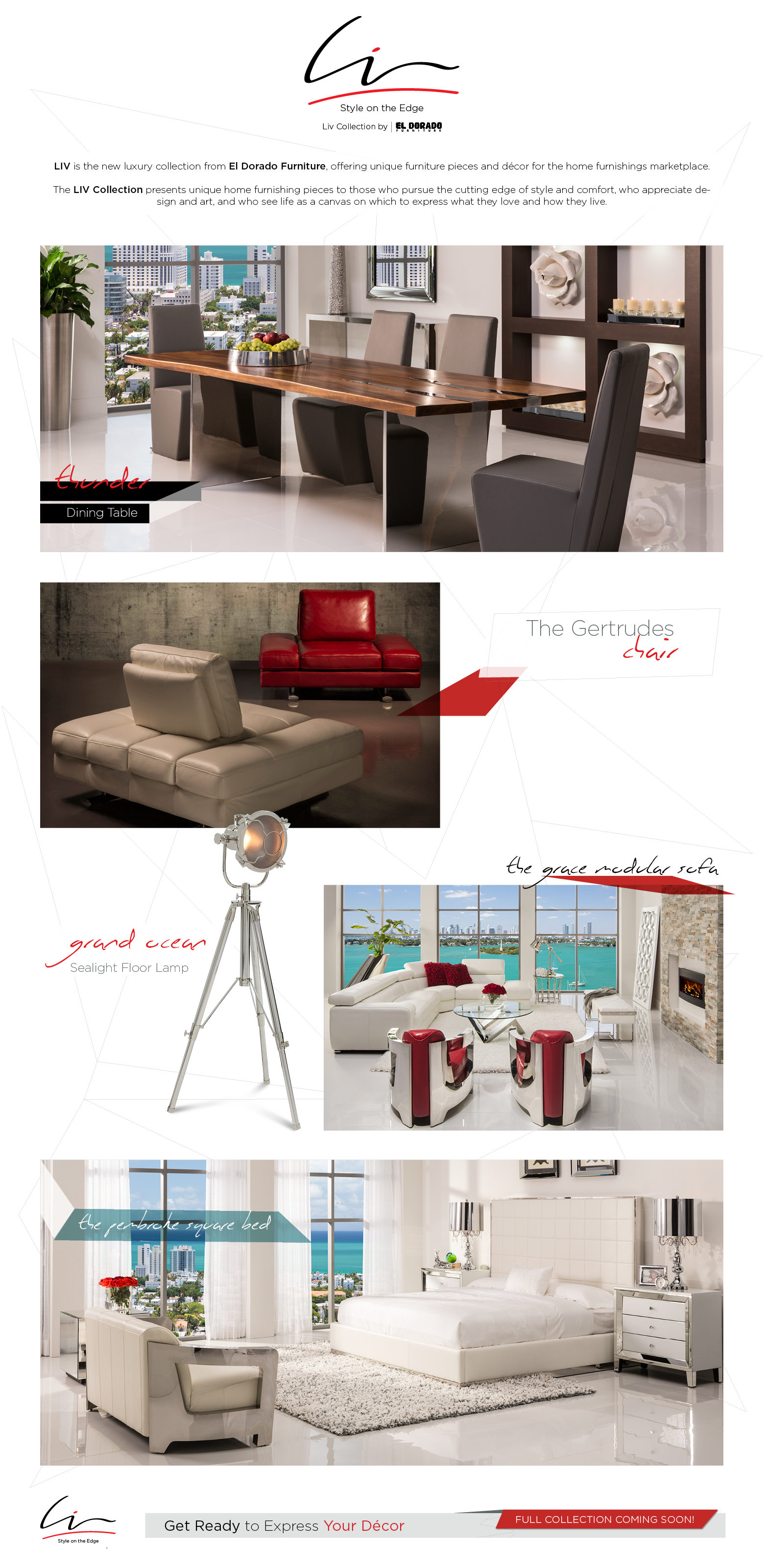 Liv Collection By El Dorado Furniture. LIV Is The