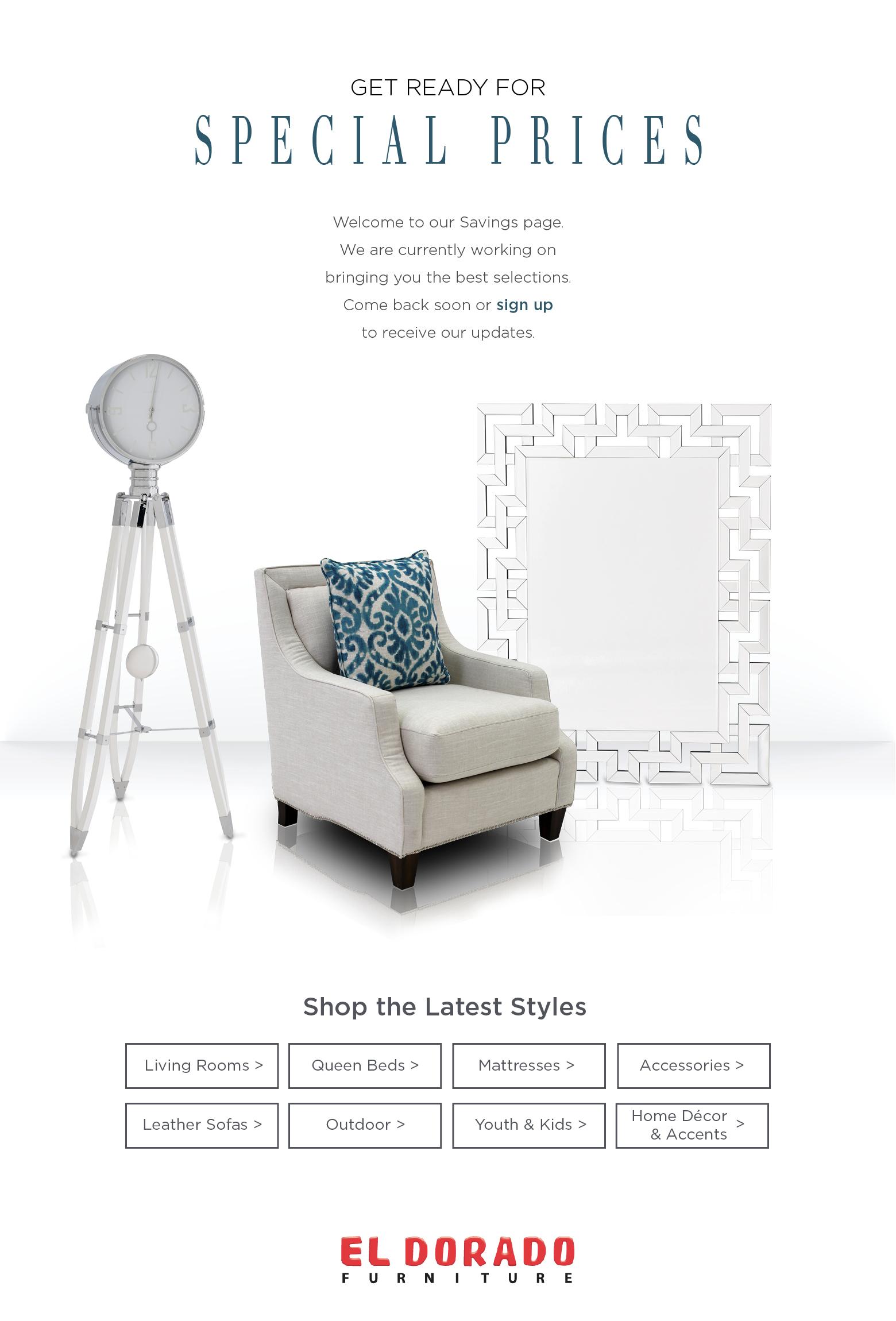 4th of July Sales Event | El Dorado Furniture