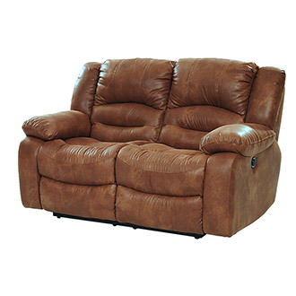 Wrangler Tan Reclining Loveseat