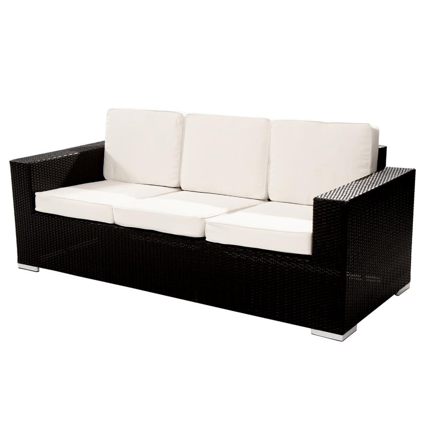 Neilina Black Sofa  main image, 1 of 6 images.