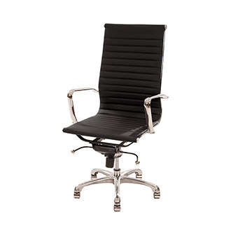 Watson Black High Back Desk Chair