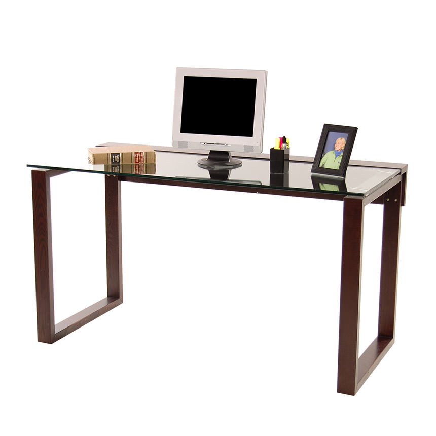 Bellmar Brown Desk  main image, 1 of 6 images.