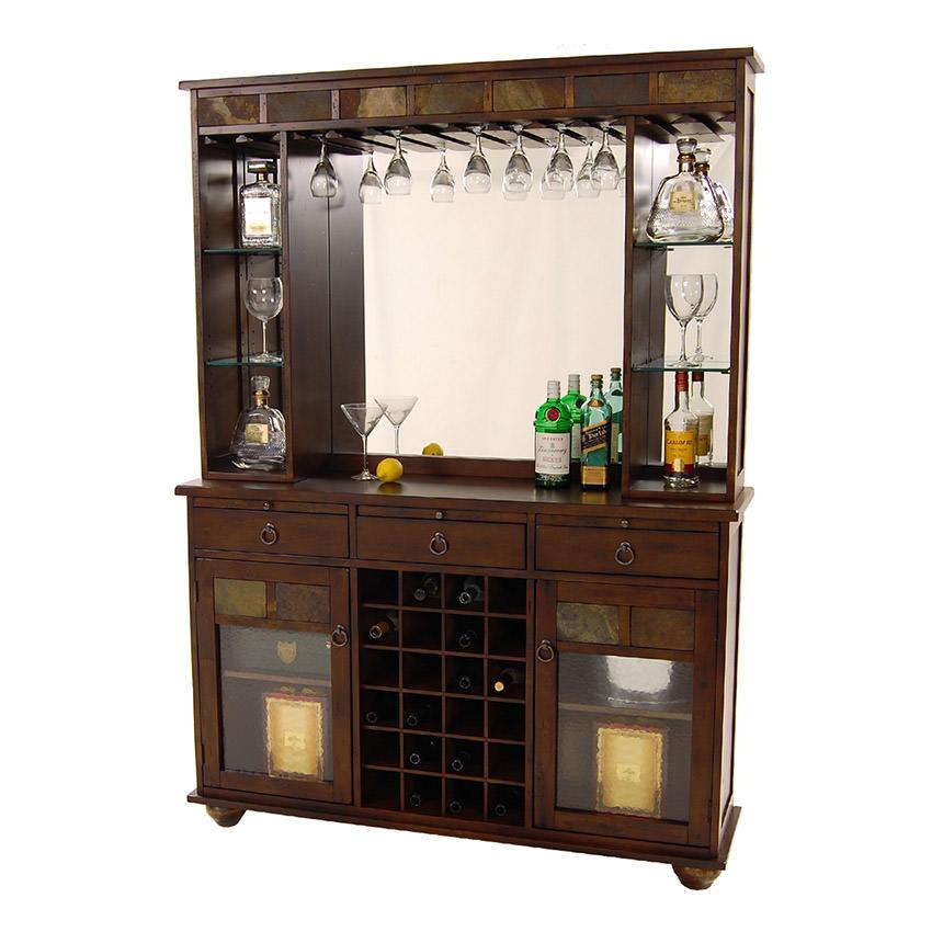 Santa Fe Bar W Hutch El Dorado Furniture