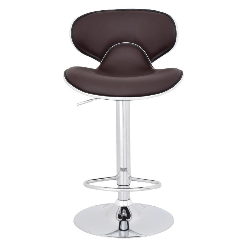 Clipper Brown Adjustable Stool  main image, 1 of 8 images.