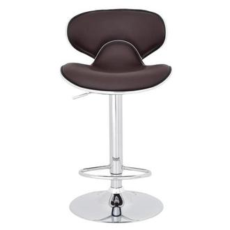 Clipper Brown Adjustable Stool
