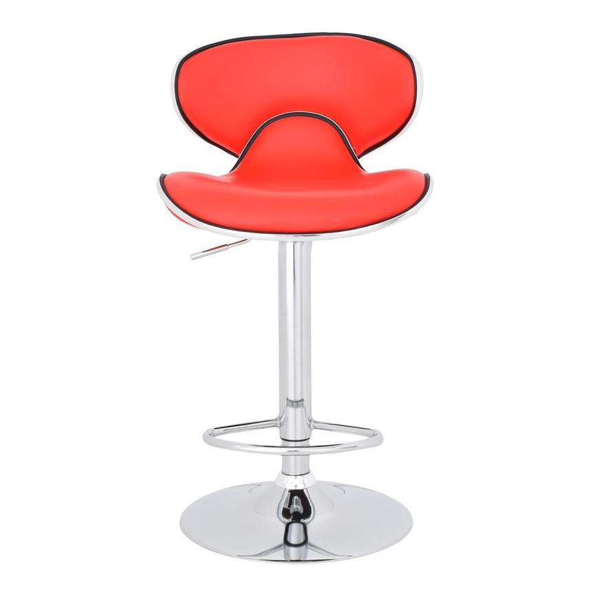 Clipper Red Adjustable Stool  main image, 1 of 7 images.