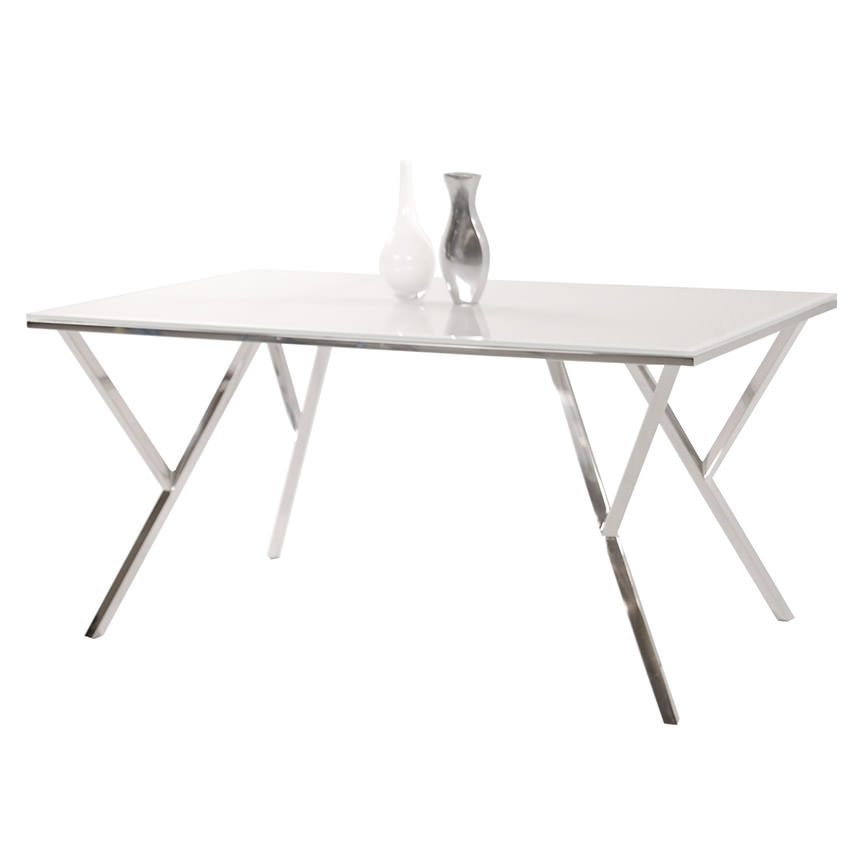 Jade Rectangular Dining Table  main image, 1 of 4 images.