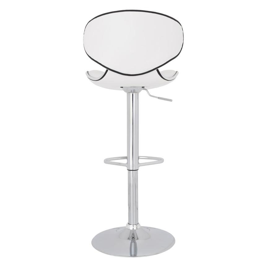 Clipper White Adjustable Stool  alternate image, 6 of 8 images.