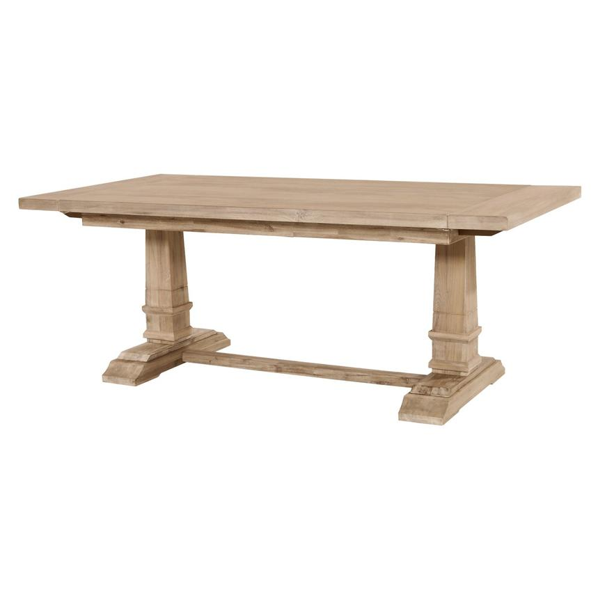 Hudson Natural Extendable Dining Table  main image, 1 of 13 images.
