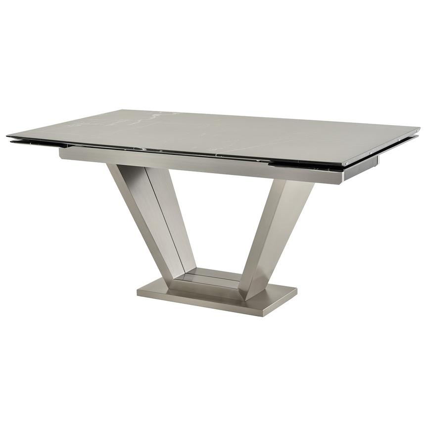 Jessy Black Extendable Dining Table  main image, 1 of 6 images.