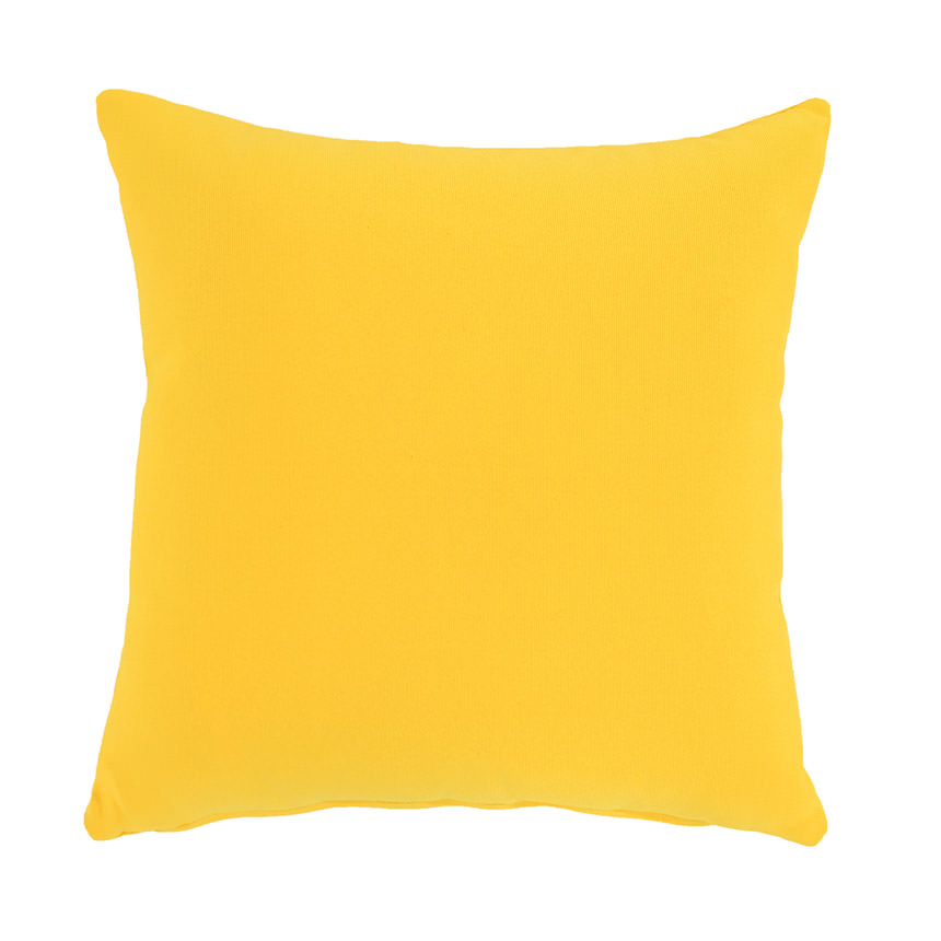 Yellow Outdoor Pillow  main image, 1 of 3 images.