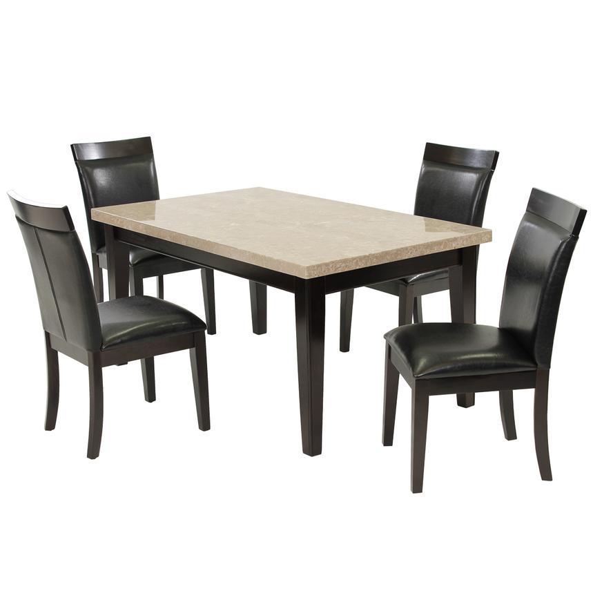 Arcadia 5 Piece Casual Dining Set El Dorado Furniture