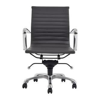 Watson Gray Low Back Desk Chair